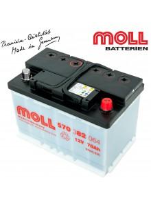 Baterie auto MOLL KAMINA START CLASSIC 100Ah 600038085