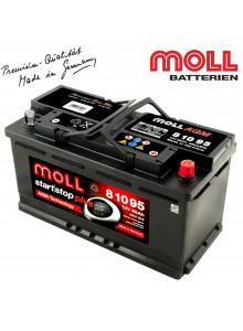 Baterie auto MOLL START-STOP PLUS AGM 81095 95Ah