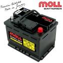 Baterie auto MOLL KAMINA START CLASSIC 55Ah 555066042