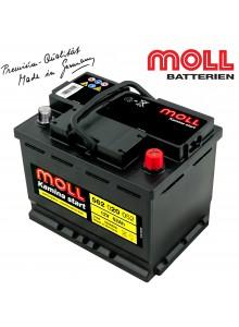Baterie auto MOLL KAMINA START 562020052 62Ah