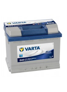 Baterie auto VARTA BLUE DYNAMIC D43 60Ah
