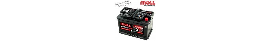 Baterii auto MOLL Start-Stop Plus AGM